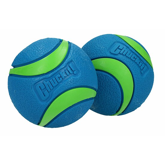 Bild 3 - Chuckit Ultra Ball Medium 2-Pack blau/grün