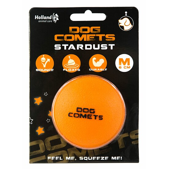 Bild 2 - Dog Comets Ball Stardust orange