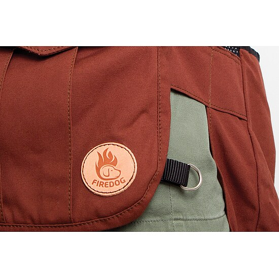 Bild 9 - Firedog Dummyweste Hunter Air canvas braun