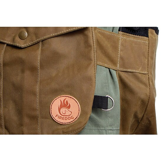 Bild 8 - Firedog Dummyweste Hunter Air Waxed cotton light khaki