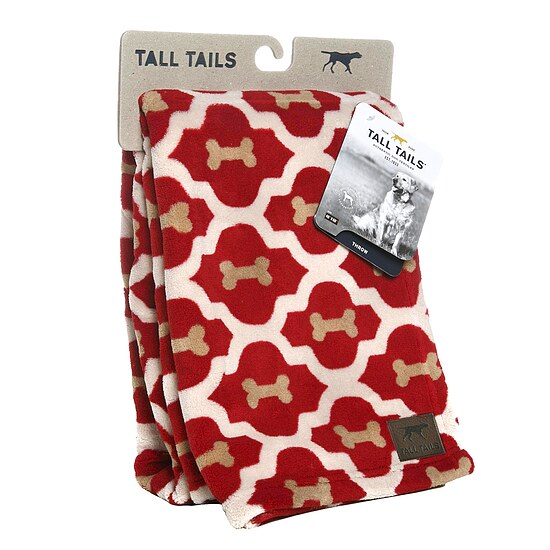Bild 2 - Tall Tails Fleece Decke Red Bone