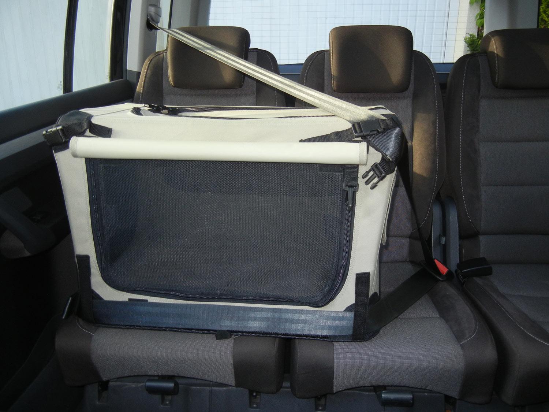 maelson soft kennel transportbox anthrazit schwarz hund freizeit. Black Bedroom Furniture Sets. Home Design Ideas