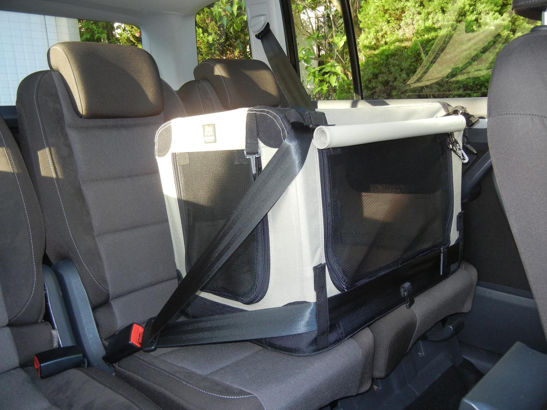 maelson soft kennel transportbox anthrazit schwarz hund. Black Bedroom Furniture Sets. Home Design Ideas