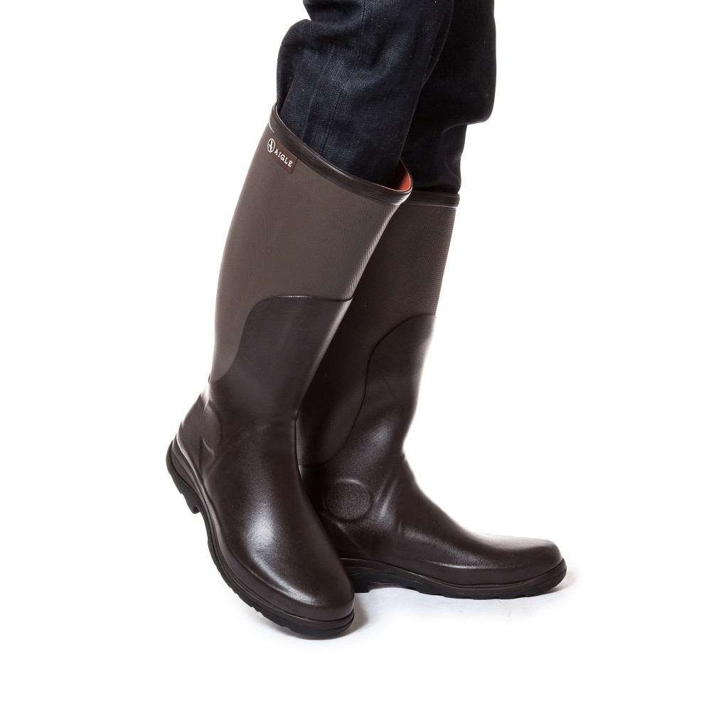 release date: 0682f 3ff67 Aigle Rboot braun/taupe