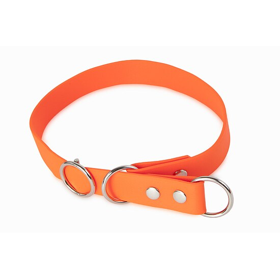 Bild 1 - Biothane Schlupfhalsband Sport 19mm orange