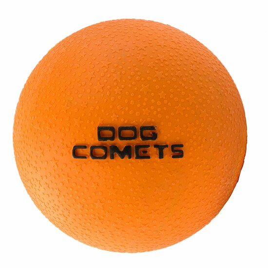 Bild 1 - Dog Comets Ball Stardust orange
