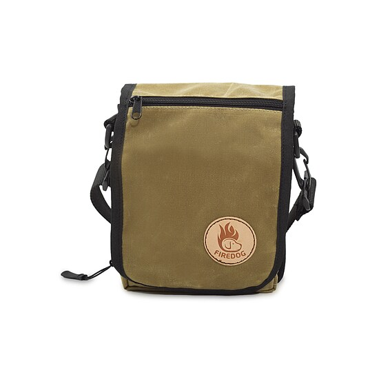 Bild 1 - Firedog Umhängetasche waxed cotton light khaki