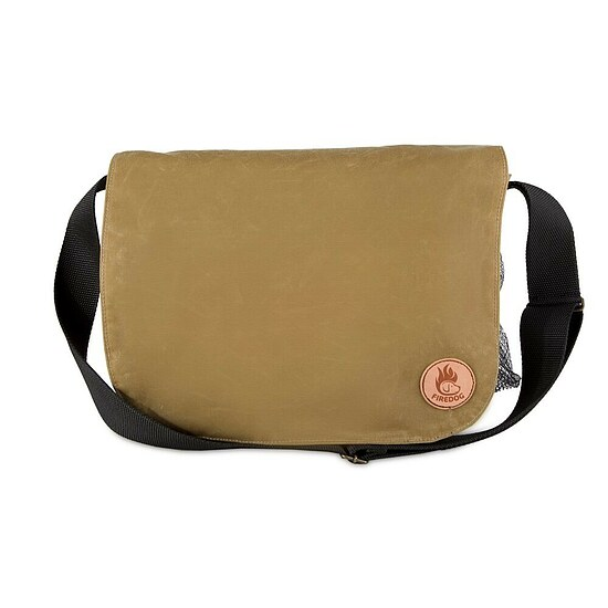 Bild 1 - Firedog Dummytasche Waxed Cotton light khaki