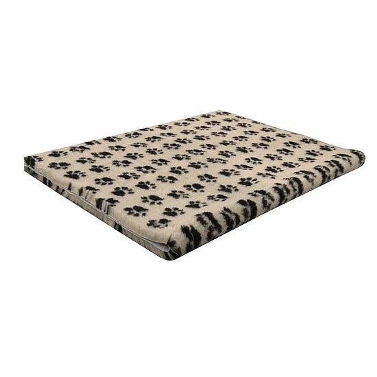 isobed rutschfest beige mit pfoten hund freizeit. Black Bedroom Furniture Sets. Home Design Ideas
