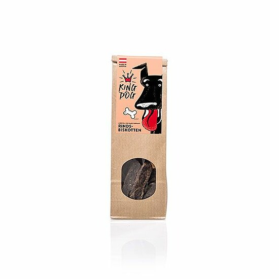 Bild 1 - King Dog Rinds Biskotten 100g