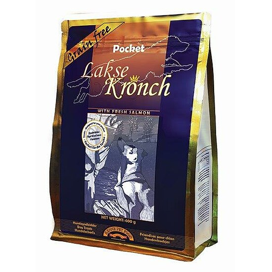 Bild 1 - Lakse Kronch Pocket Grain free 600 g