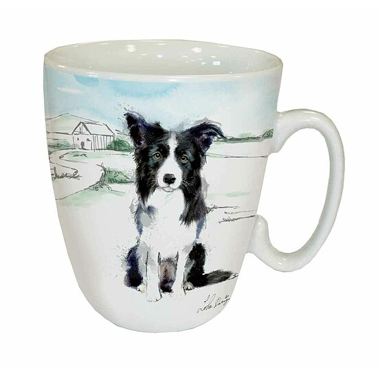 Bild 1 - Kaffee Tasse - Border Collie Lola Design