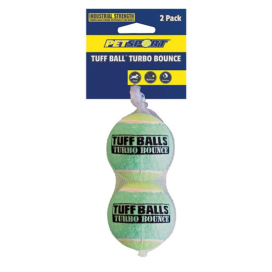 Bild 1 - PetSport Tuff Turbo Bounce Ball 2-pack