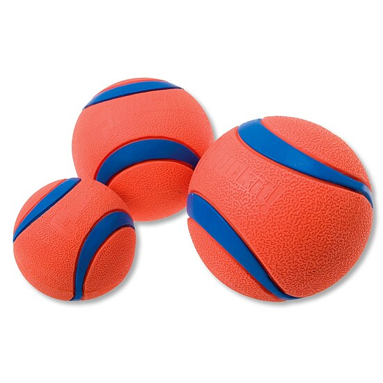 Bild 1 - Chuckit Ultra Ball Medium 2-Pack orange/blau