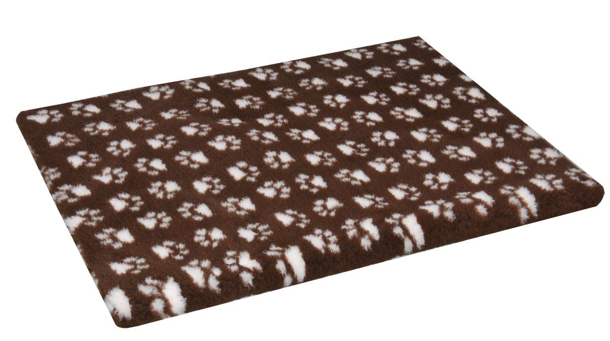 isobed rutschfest braun mit pfoten hund freizeit. Black Bedroom Furniture Sets. Home Design Ideas