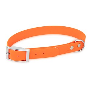 Biothane Halsband Basic 25mm orange