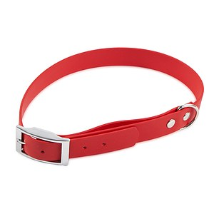 Biothane Halsband Basic 19mm rot