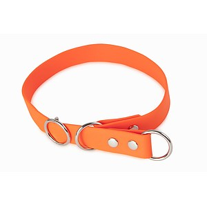 Biothane Schlupfhalsband Sport 25mm orange