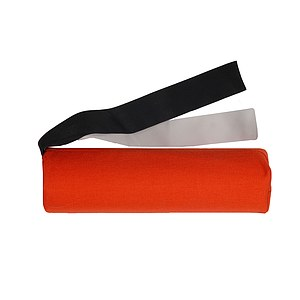 Canvas Long-Dummy mit Streamer orange