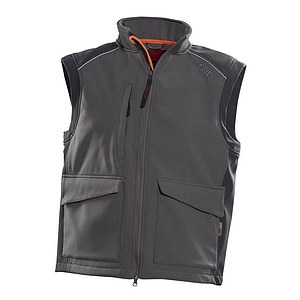 Owney Softshell Weste Companion grau