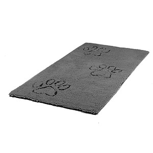 Dirty Dog Runner Hundematte grau