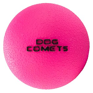 Dog Comets Ball Stardust pink