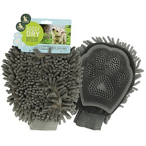 Doggy Dry Pet Mikrofaser Handschuh