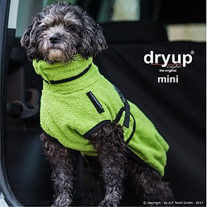 Hundemantel Dryup Cape Mini kiwi