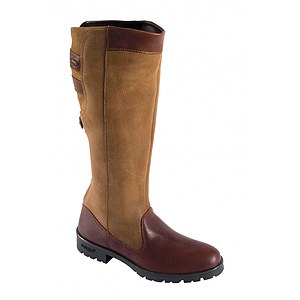 Dubarry Damen Lederstiefel Clare brown