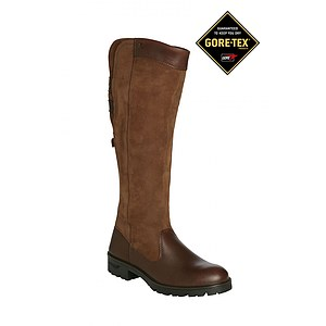 Dubarry Damen Lederstiefel Clare walnut