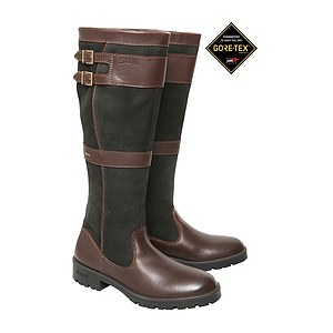 Dubarry Lederstiefel Longford black/brown