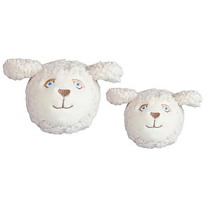 FabDog Sheep Emoji Ball mit Quietscher