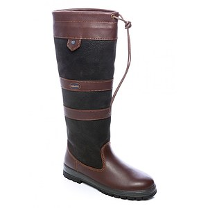 Dubarry Lederstiefel Galway black/brown
