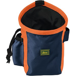 Hunter Gürteltasche Bugrino grau-blau/orange