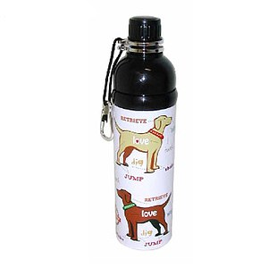 Hundetrinkflasche Puppy Love 750ml