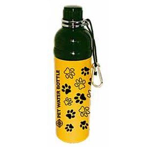 Hundetrinkflasche Yellow Paws 750ml