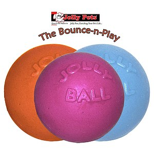 Jolly Pets Bounce-n-Play Ball 4.5 Zoll - ca. 11 cm
