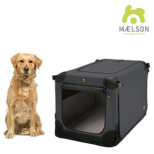 Maelson Soft Kennel Transportbox anthrazit
