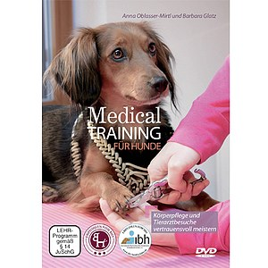 DVD Medical Training für Hunde