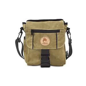 Firedog Dummytasche Mini DeLuxe light khaki waxed cotton