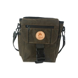 Firedog Dummytasche Mini DeLuxe waxed cotton