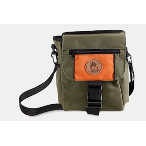 Firedog Dummytasche Mini DeLuxe olive/orange