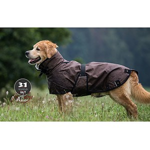 Multifunktionaler Hundemantel 3in1 Cape SET braun