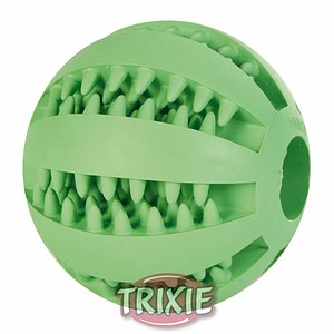 Denta Fun Baseball Mintfresh Naturgummi 7 cm