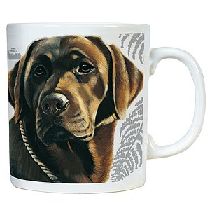 Kaffee Tasse - Chocolate Labrador