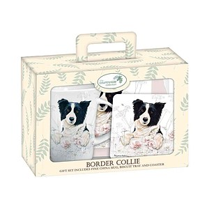 Tea Time Geschenkset - Border Collie
