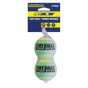 PetSport Tuff Turbo Bounce Ball 2-pack