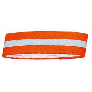 Hunter Warnband mit Klettverschluss orange