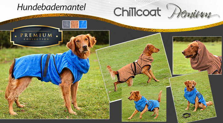 Hundebademantel Chillcoat Premium
